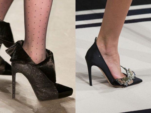 Elegant evening footwear