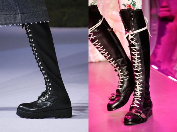 Laced boots fall-winter 2018 2019