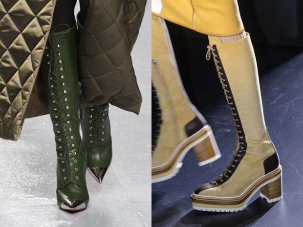 What boots to wear in fall 2018