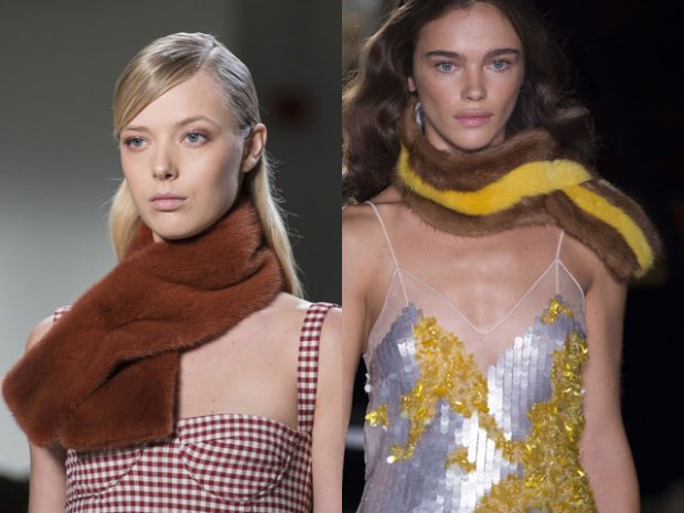 Scarves trends fall winter 2018 2019
