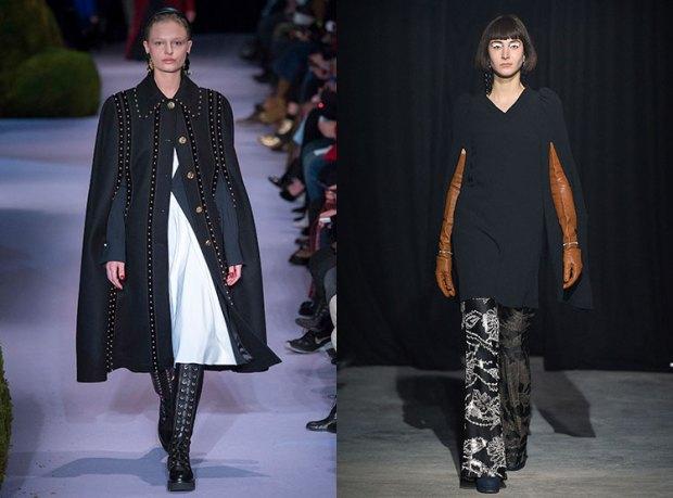 Women coats fall 2018 winter 2019: capes