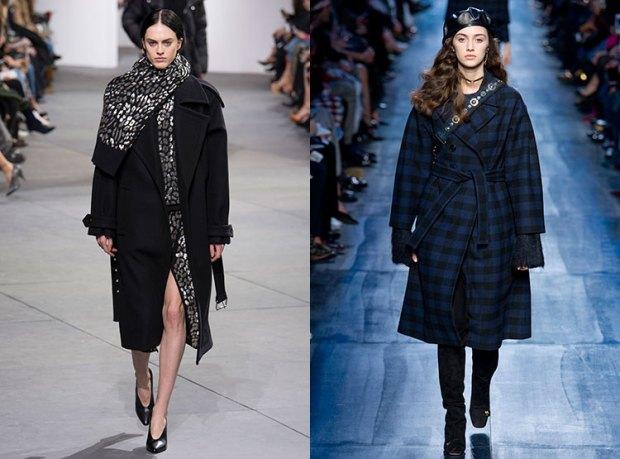 Long elegant coat for women