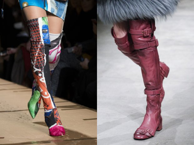 over the knees boots designs