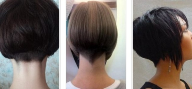 Haircuts for women 2017 shaved neck