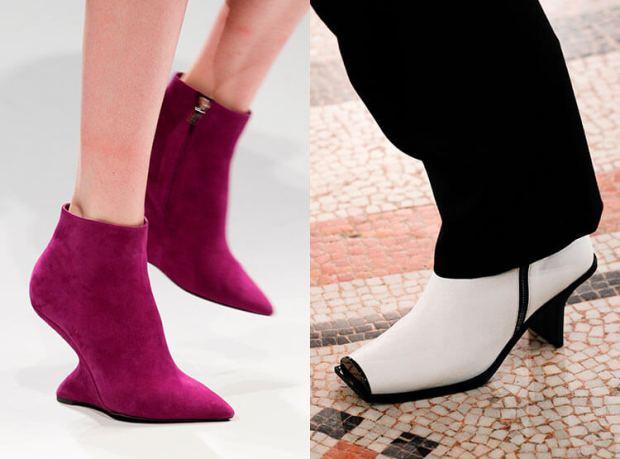 stylish medium heeled