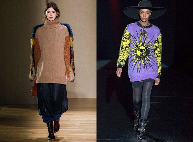 Long sweaters fall winter 2018 2019