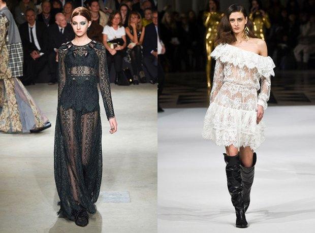 Casual transparent dresses fall winter 2018 2019