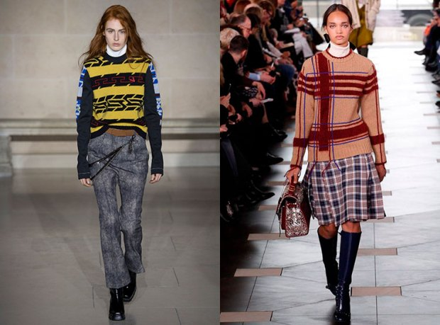 Sweater with prints fall winter 2019