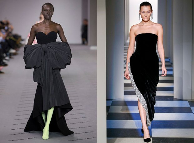 What evening dress to wear in winter 2019