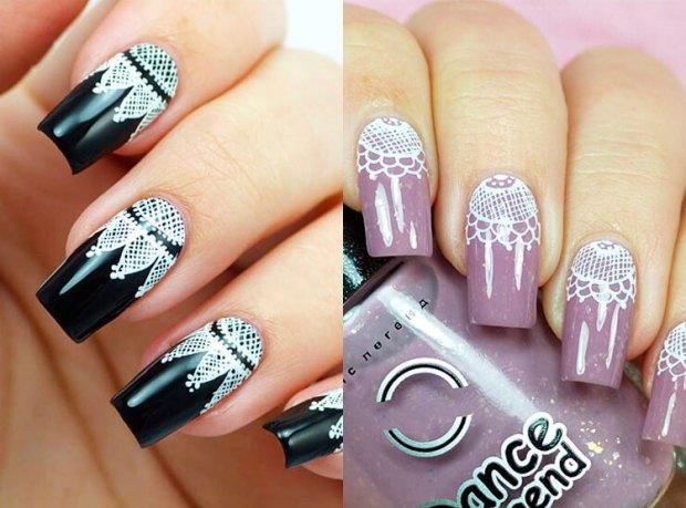 Lace Nail Ideas