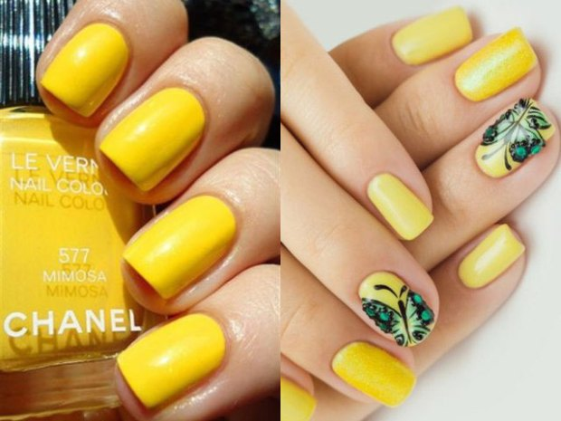 What manicure to wear on new year celebration party 2019