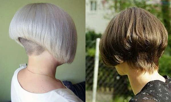 undercut bob-carre haircut
