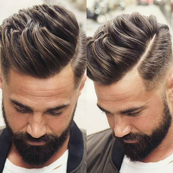 Haircuts with beard 2019 male