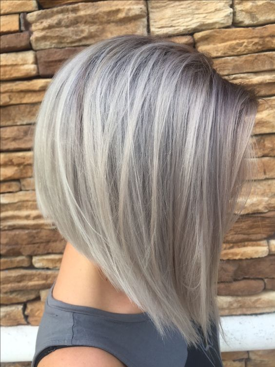 Inverted bob mid length