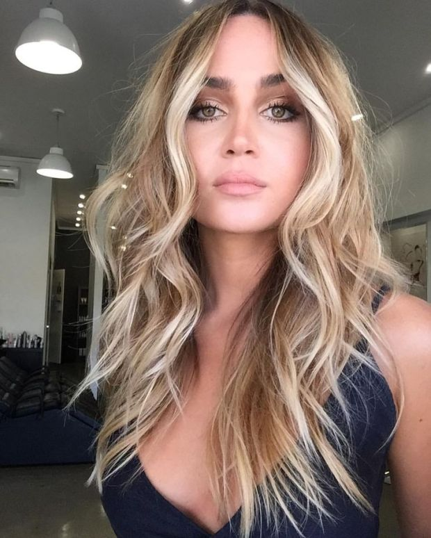 Contouring hair color ideas