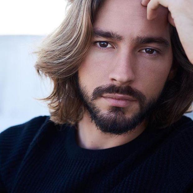 Mens hairstyles for medium length hair 2019