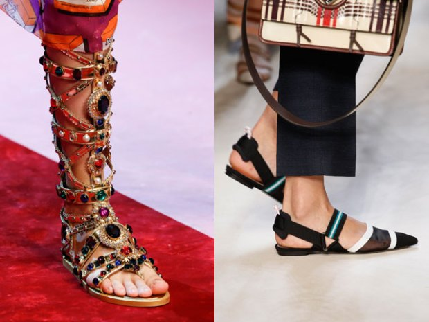 What sandals to wear in summer 2019