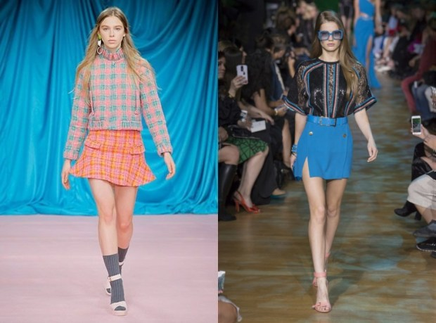 Mini skirts spring summer 2019