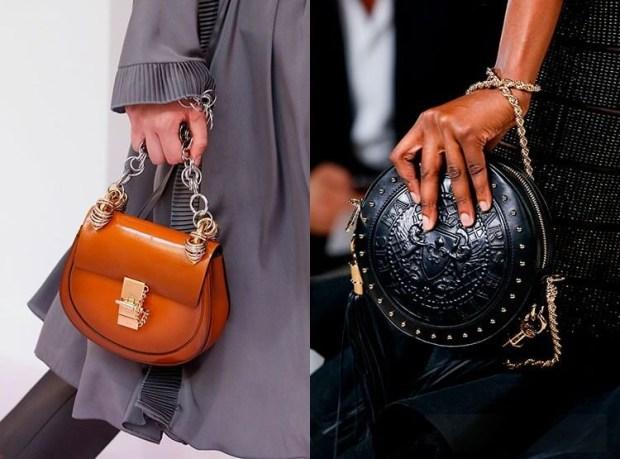 Round handbags spring-summer 2019