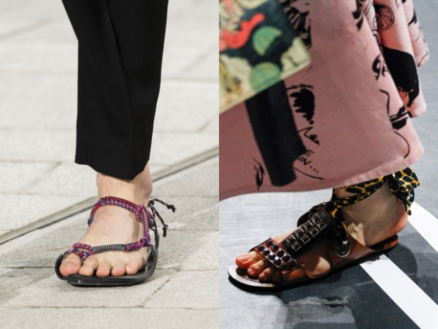 What sandals are in this summer 2019