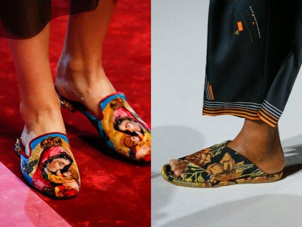Women brand flip-flops