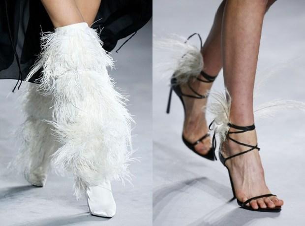 Stylish furry footwear 2019