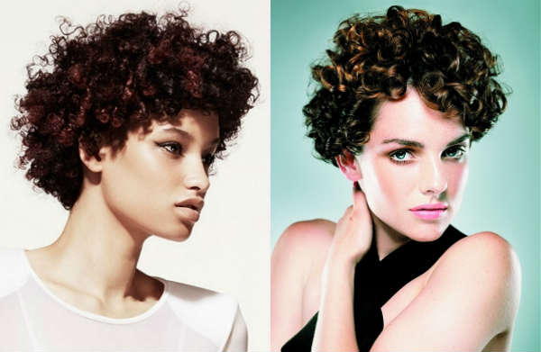 Haircuts for short natural curly hair