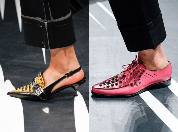 Masculine style shoes 2019