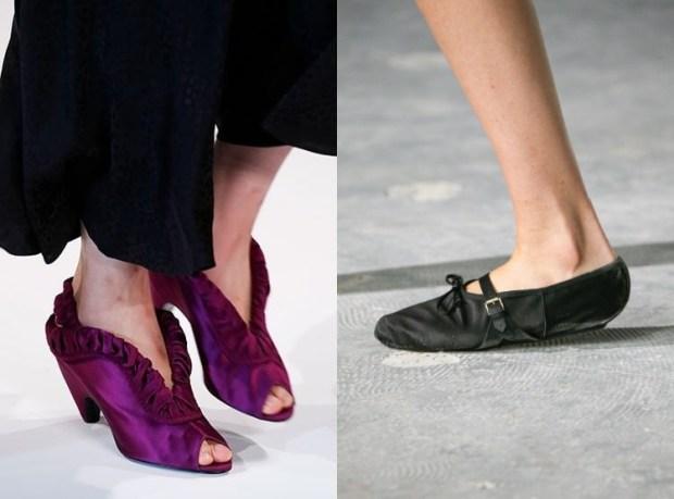Summer satin footwear 2019