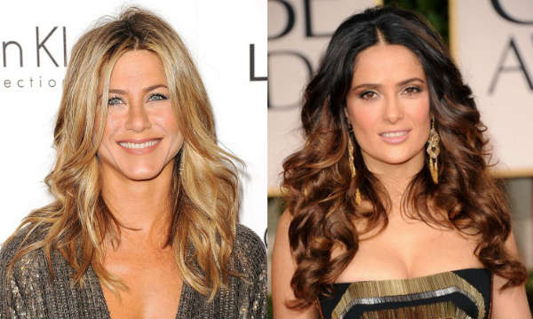 Celebrities haircuts for long curly hair