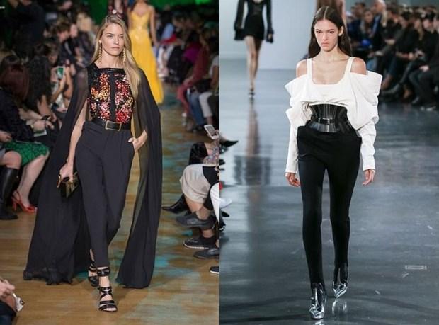 Black stylish pants 2019