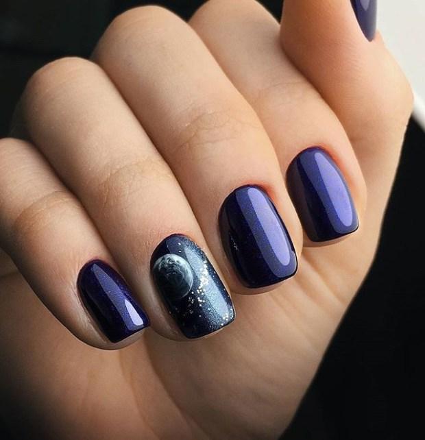 short blue