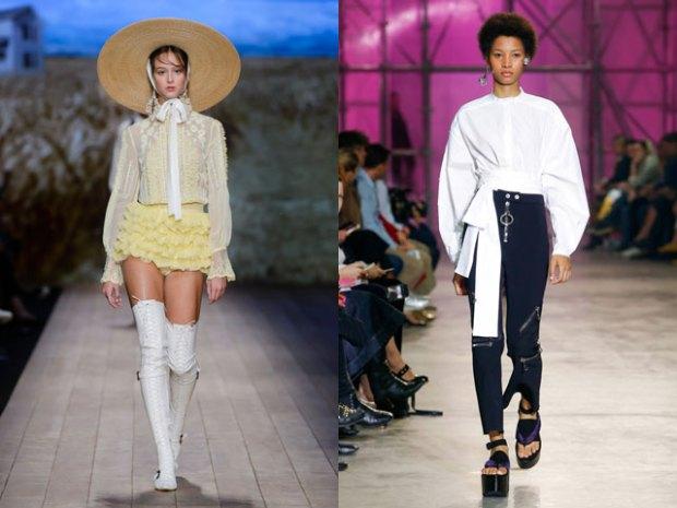 White blouses spring-summer 2021