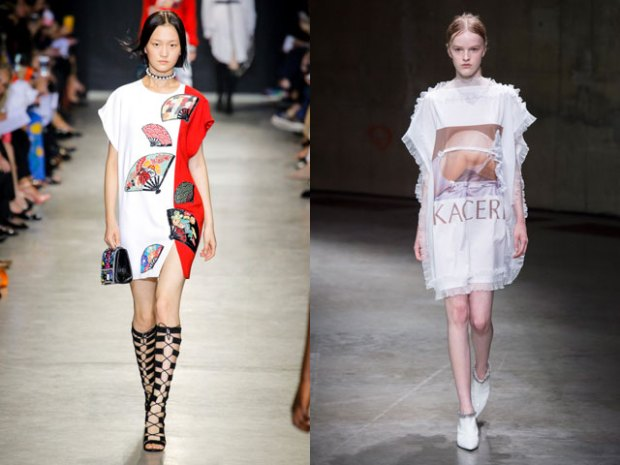 Fashion tunics spring-summer 2021