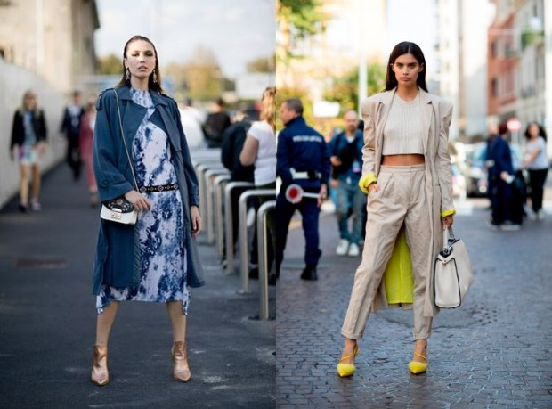 Street style 2019 trench coats