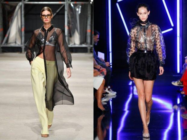 Transparent blouses 2021