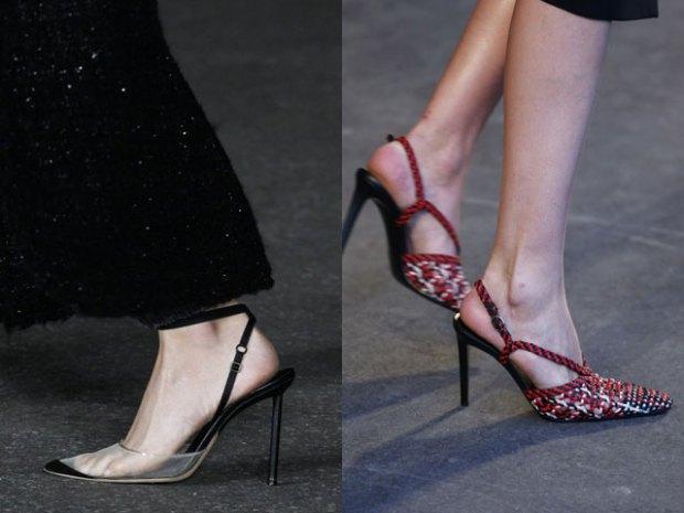 Slingback shoes spring summer 2021