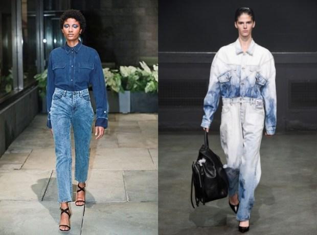 Vintage jeans spring summer 2020