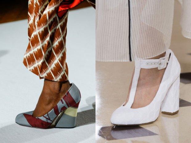 heel and platform designs