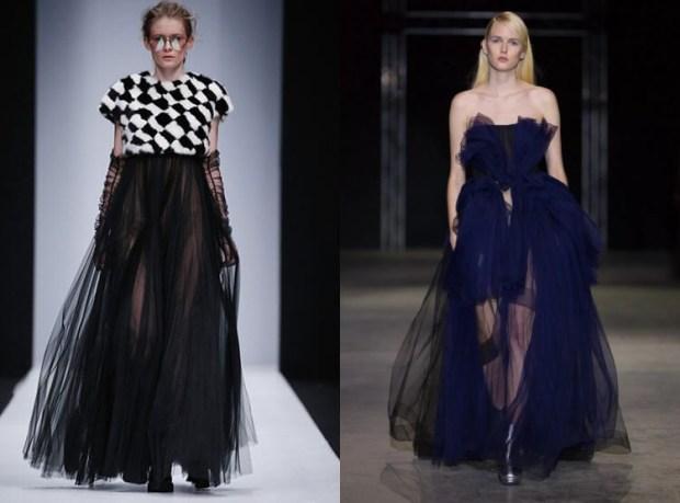 Transparent dress design