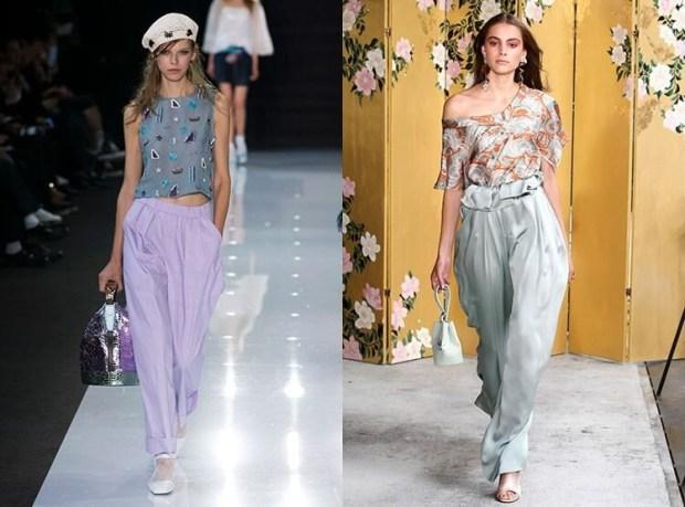 Spring summer trends 2019: banana pants