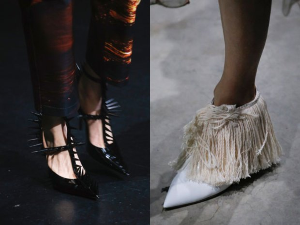 Shoes 2019 spring summer: unusual