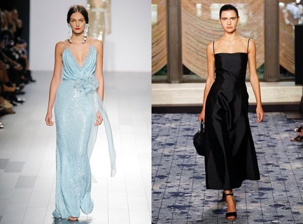 What evening dresses to wear in spring 2019