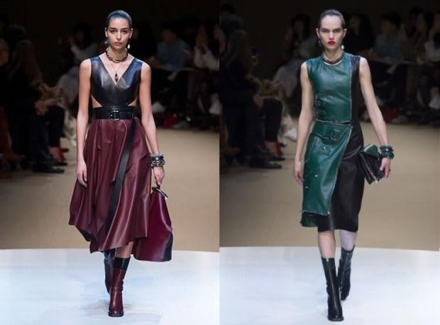 midi leather