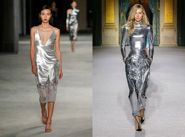 Silver dresses designs 2019 2020 fall winter
