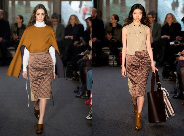 Quilted pencils skirts 2020