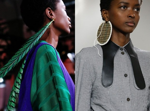 Big earrings trends 2020