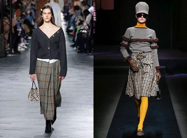 Casual skirt designs winter 2020