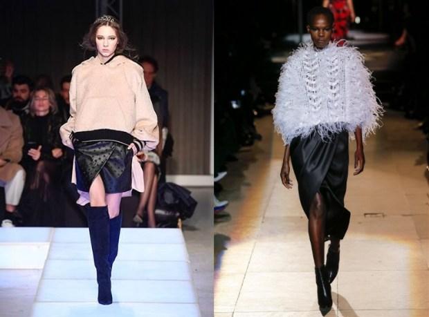 Wrap skirts fall 2019 winter 2020