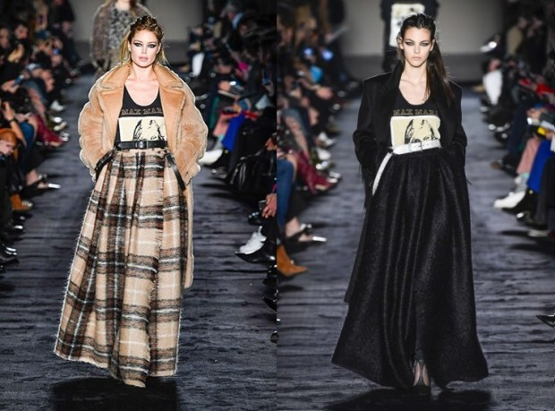Warm skirts for winter 2020